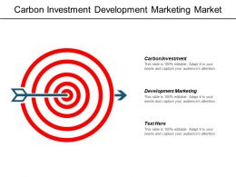 Carbon Investment Development Marketing Market Trends Online Delivery Cpb