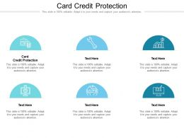Card Credit Protection Ppt Powerpoint Presentation Gallery Show Cpb