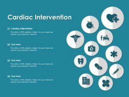 Cardiac Intervention Ppt Powerpoint Presentation Professional Slideshow