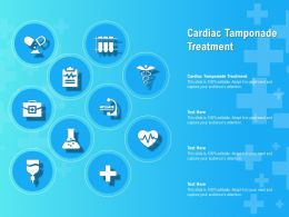 Cardiac Tamponade Treatment Ppt Powerpoint Presentation Professional Design