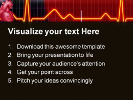 Cardiogram Medical PowerPoint Templates And PowerPoint Backgrounds 0511