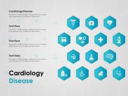 Cardiology Disease Ppt Powerpoint Presentation Ideas Brochure