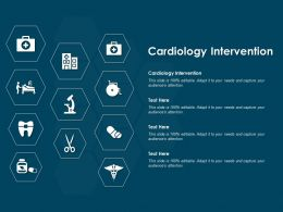 Cardiology Intervention Ppt Powerpoint Presentation Show Objects