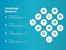 Cardiology Research Ppt Powerpoint Presentation Show Designs Download