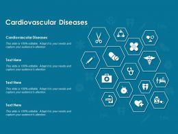 Cardiovascular Diseases Ppt Powerpoint Presentation Show Themes