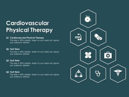 Cardiovascular Physical Therapy Ppt Powerpoint Presentation Show Graphics