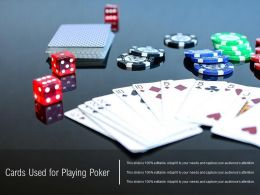 Cards Used For Playing Poker