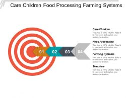 Care Children Food Processing Farming Systems Good Health Cpb