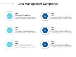 Care Management Compliance Ppt Powerpoint Presentation Layouts Show Cpb