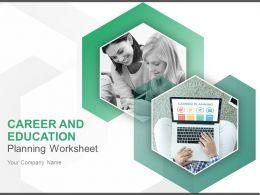 career_and_education_planning_worksheet_powerpoint_presentation_slides_Slide01