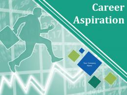Career Aspiration PowerPoint Presentation Slides