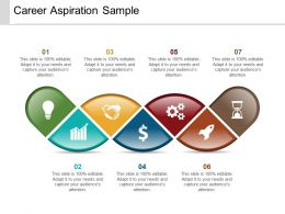 Career Aspiration Sample Powerpoint Presentation