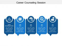 Career Counseling Session Ppt Powerpoint Presentation File Example Topics Cpb