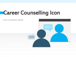 Career Counselling Icon Employee Individual Professional Representing