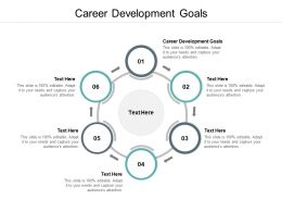 Career Development Goals Ppt Powerpoint Presentation Icon Graphic Tips Cpb
