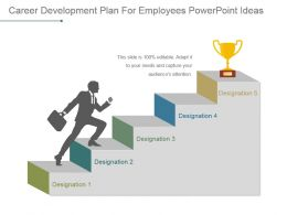 Career Development Plan For Employees Powerpoint Ideas