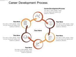 Career Development Process Ppt Powerpoint Presentation File Summary Cpb