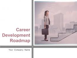 Career Development Roadmap Powerpoint Presentation Slides