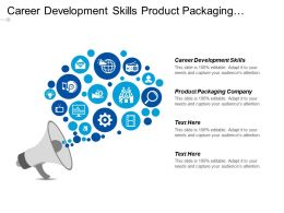 Career Development Skills Product Packaging Company Project Management Cpb