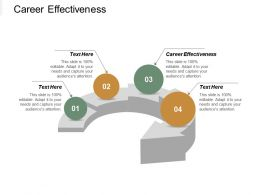 Career Effectiveness Ppt Powerpoint Presentation Infographic Template Layouts Cpb