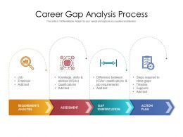 Career Gap Analysis Process