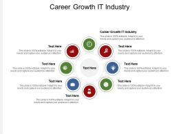 Career Growth IT Industry Ppt Powerpoint Presentation Professional Graphic Tips Cpb