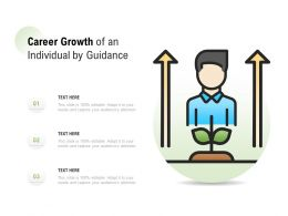Career Growth Of An Individual By Guidance