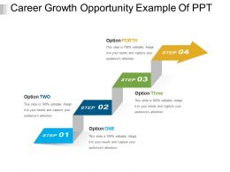 Career Growth Opportunity Example Of PPT