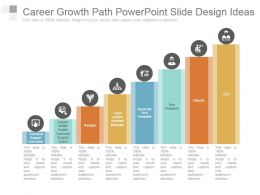 Career Growth Path Powerpoint Slide Design Ideas