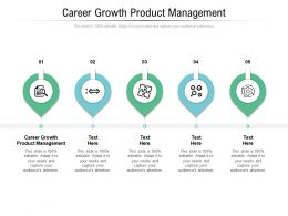Career Growth Product Management Ppt Powerpoint Presentation Layouts Objects Cpb