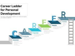 Career Ladder For Personal Development