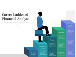 Career Ladder Of Financial Analyst
