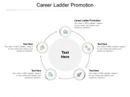 Career Ladder Promotion Ppt Powerpoint Presentation File Clipart Images Cpb