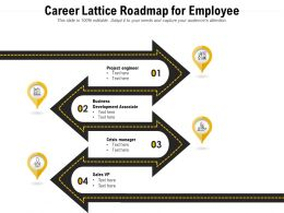 Career Lattice Roadmap For Employee