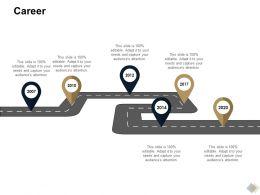 Career Location Ppt Powerpoint Presentation Layouts Smartart