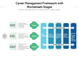 Career Management Framework With Workstream Stages