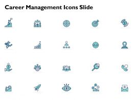 Career Management Icons Slide A837 Ppt Powerpoint Presentation Outline Information
