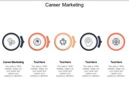 Career Marketing Ppt Powerpoint Presentation Infographic Template Files Cpb