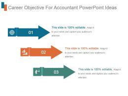 Career Objective For Accountant Powerpoint Ideas