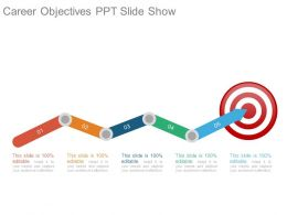 Career Objectives Ppt Slide Show