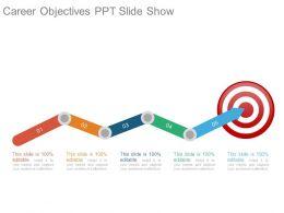 Career Objectives Ppt Slide Show