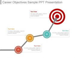 Career Objectives Sample Ppt Presentation