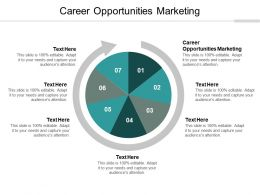 Career Opportunities Marketing Ppt Powerpoint Presentation Visual Aids Show Cpb