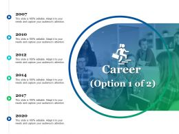 Career Option 1 Of 2 Ppt Pictures Images