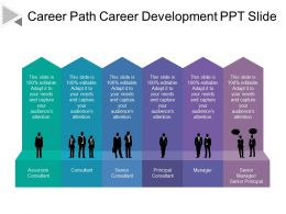 Career Path Career Development Ppt Slide