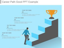 Career Path Good Ppt Example