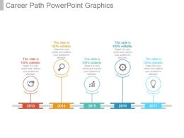 Career Path Powerpoint Graphics