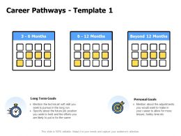 Career Pathways Personal Goals A832 Ppt Powerpoint Presentation Pictures Display