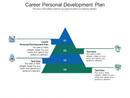 Career Personal Development Plan Ppt Powerpoint Presentation Slides Pictures Cpb