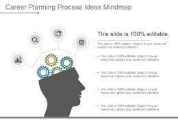 Career Planning Process Ideas Mindmap Powerpoint Presentation Examples